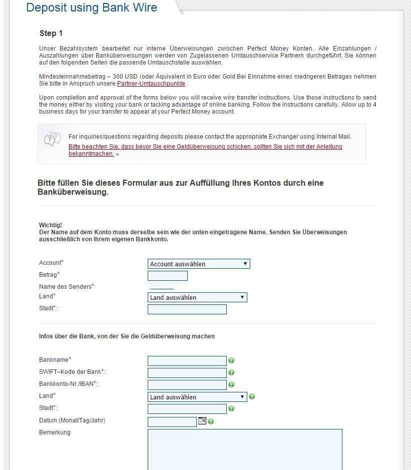 Niedlich Banküberweisung Formulare Galerie - Die Besten Elektrischen ...